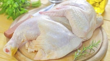 Whole frozen chickens that have been recalled were packaged in plastic bags and distributed in the Houston, Dallas, and Austin areas. They were also sold at Texas All Grass-Fed's storefront at 1962 Hluchan Road in Sealy.