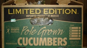 Mexican Cucumber Salmonella Poona Outbreak