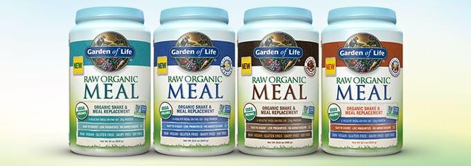 RAW Meal Organic Shake Salmonella Rebranded