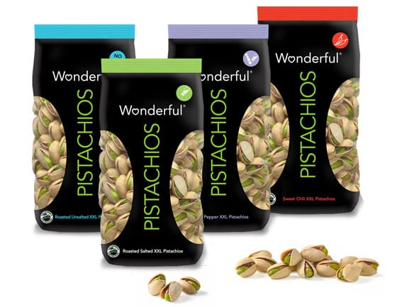 Wonderful Pistachios Contaminated with Salmonella