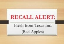 """""""Fresh From Texas"""" Recalls Apple Products – Another Listeria Recall apples - Food Poisoning News"""