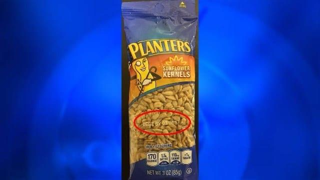 Planters Sunflower Kernels recalled by SunOpta