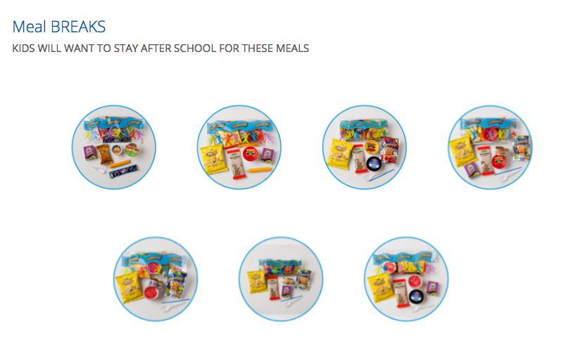 School lunch program meal breaks recall sunopta