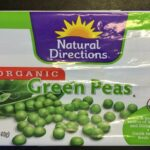 Natural Directions Organic CRF Recalled Green Peas