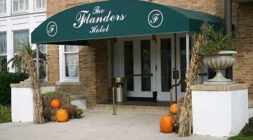 Norovirus outbreak at Flanders Hotel wedding