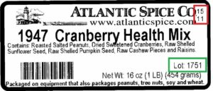 sunopta atlantic spice recall