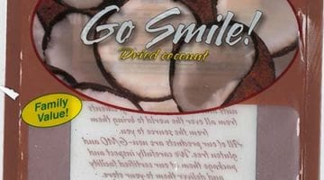 International Harvest, Inc., distributed Organic Go Smile! Raw Coconut products to customers via online retailers, retail stores, and distributors. The products were directly distributed to New York, New Jersey, Connecticut, California, Colorado, Oklahoma, Georgia, Vermont, Illinois, Florida, Maine, Washington, New Hampshire, and Utah.