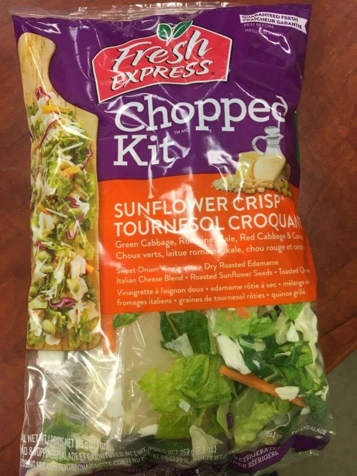 Fresh Express salad kits for e. coli lawsuit